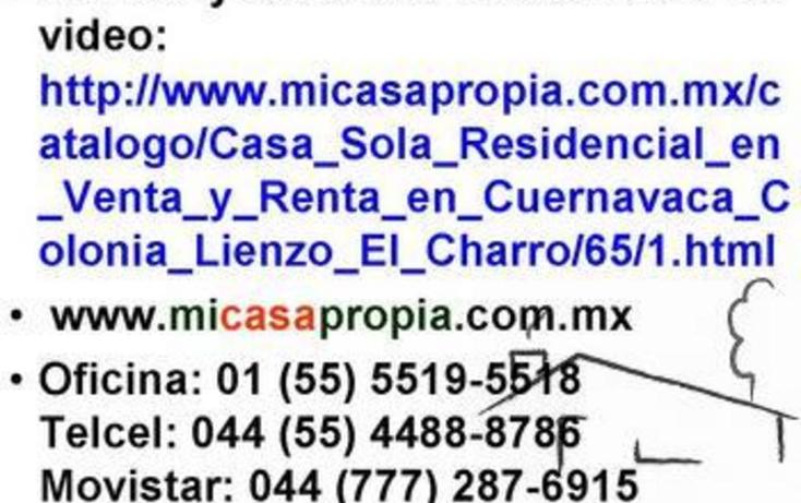 Foto de casa en renta en  , lienzo el charro, cuernavaca, morelos, 1076537 No. 06