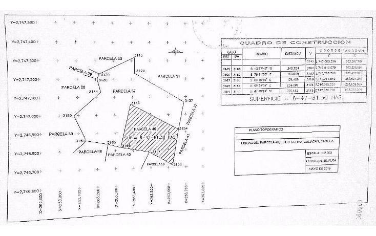 Foto de terreno comercial en venta en  , limita de hitaje, culiacán, sinaloa, 1552816 No. 03