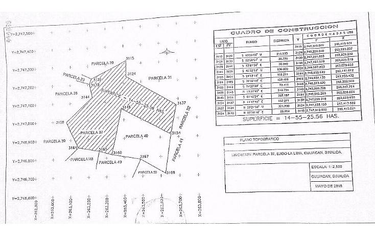 Foto de terreno comercial en venta en  , limita de hitaje, culiacán, sinaloa, 1552816 No. 04