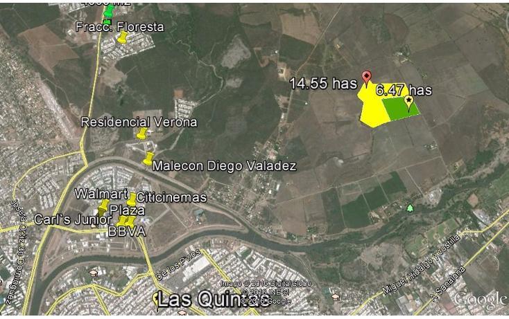 Foto de terreno comercial en venta en  , limita de hitaje, culiacán, sinaloa, 1552816 No. 05