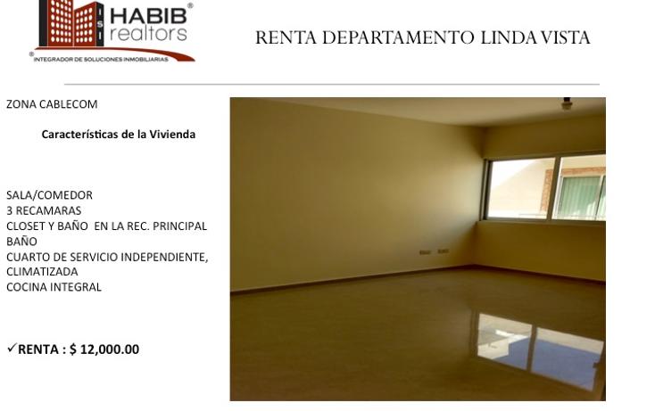 Foto de departamento en renta en  , lindavista, centro, tabasco, 1449105 No. 01