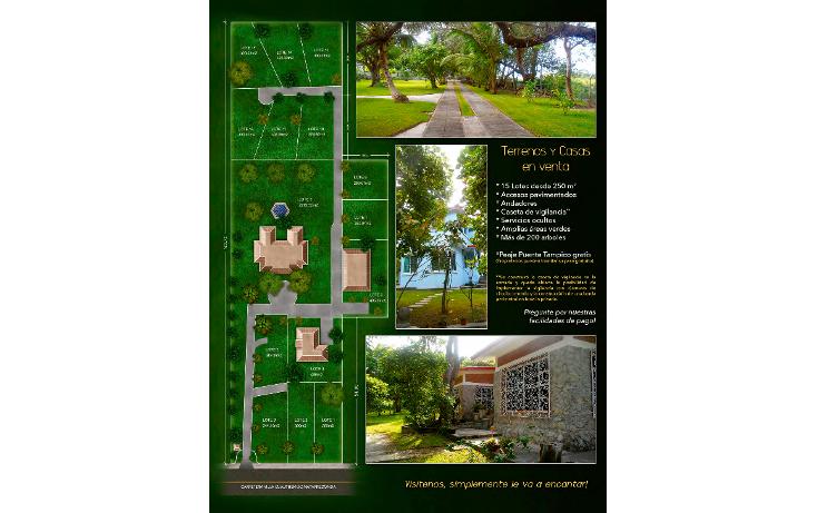 Foto de terreno habitacional en venta en  , lindavista, pueblo viejo, veracruz de ignacio de la llave, 943667 No. 04