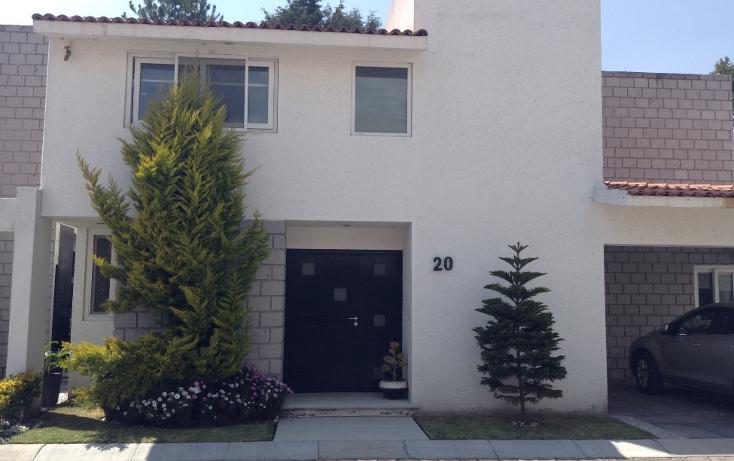 Foto de casa en venta en  , llano grande, metepec, méxico, 1090097 No. 01