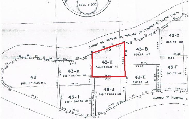 Foto de terreno habitacional en venta en  , llano largo, acapulco de ju?rez, guerrero, 1267973 No. 02