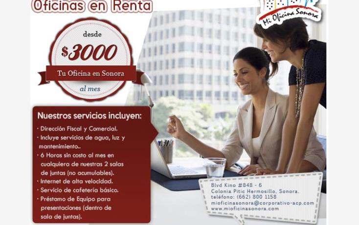 Foto de oficina en renta en  local 6, pitic, hermosillo, sonora, 1610686 No. 01
