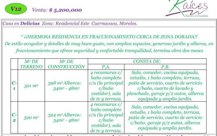 Foto de casa en venta en , loma bonita, cuernavaca, morelos, 620598 no 02