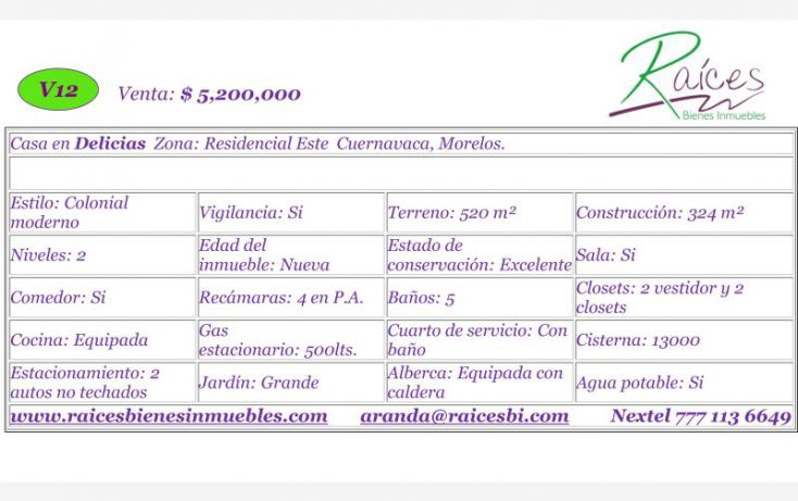 Foto de casa en venta en , loma bonita, cuernavaca, morelos, 620598 no 03