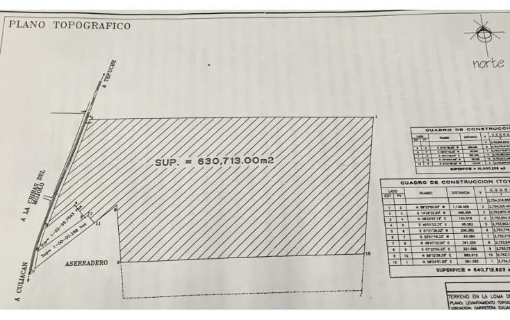 Foto de terreno comercial en venta en  , loma de rodriguera, culiacán, sinaloa, 1515084 No. 02