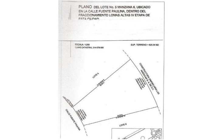 Foto de terreno habitacional en venta en  , lomas altas i, chihuahua, chihuahua, 1057019 No. 03