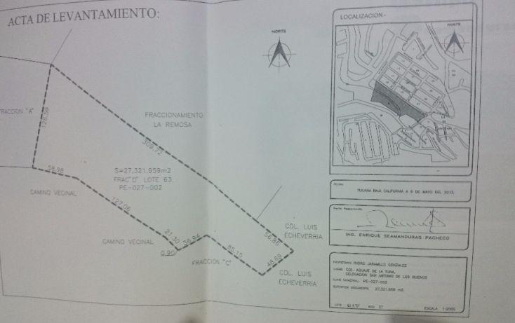 Foto de terreno habitacional en venta en lomas altas sn, manzana 27 lote 2, planetario, tijuana, baja california norte, 1720816 no 01