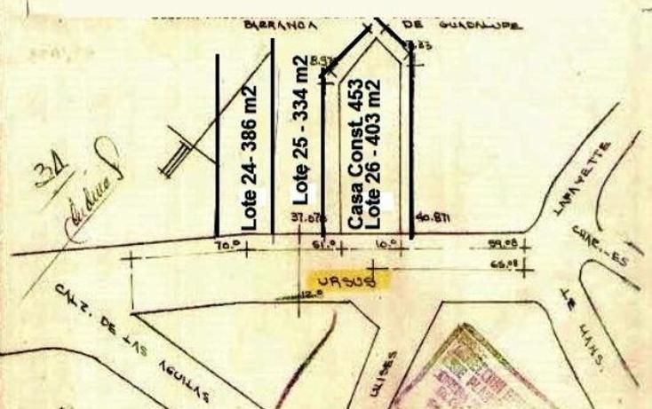 Foto de terreno habitacional en venta en  , lomas axomiatla, ?lvaro obreg?n, distrito federal, 1445617 No. 05