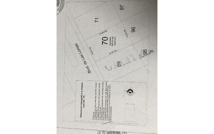 Foto de terreno habitacional en venta en  , lomas, campeche, campeche, 1721812 No. 01