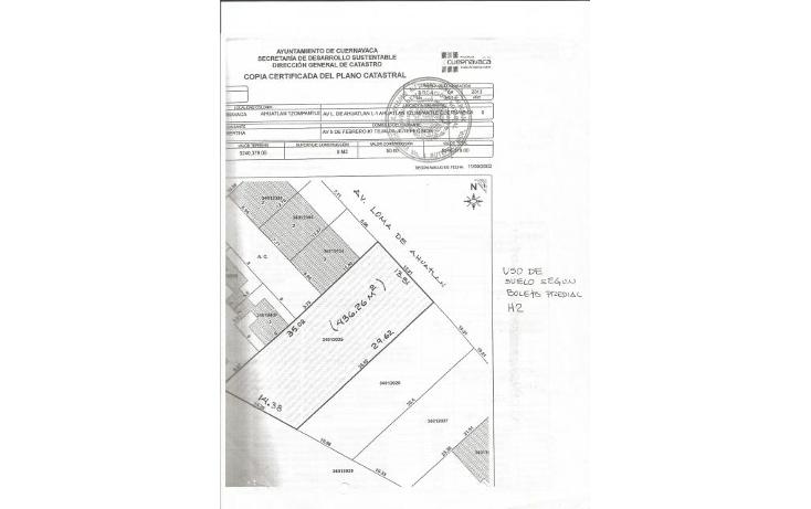 Foto de terreno habitacional en venta en  , lomas de ahuatl?n, cuernavaca, morelos, 1200233 No. 02