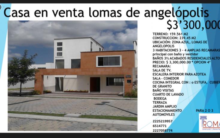 Foto de casa en venta en, lomas de angelópolis closster 777, san andrés cholula, puebla, 1452325 no 08