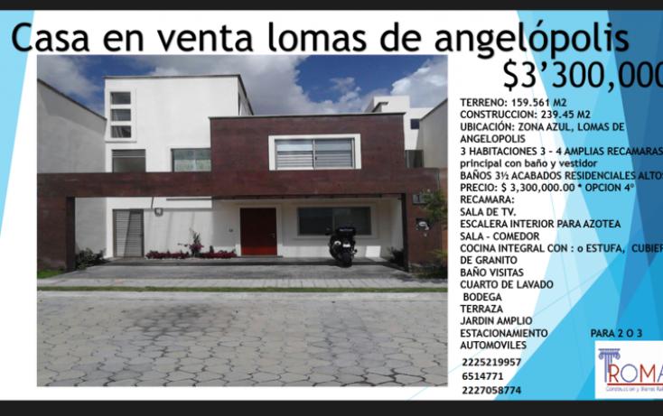Foto de casa en venta en, lomas de angelópolis closster 777, san andrés cholula, puebla, 1452325 no 09