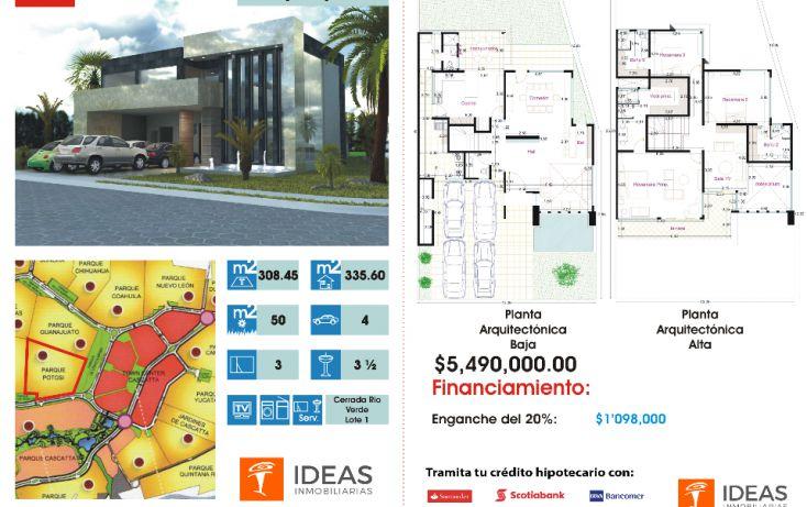 Foto de casa en condominio en venta en, lomas de angelópolis ii, san andrés cholula, puebla, 1357019 no 03