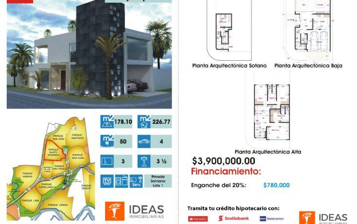Foto de casa en condominio en venta en, lomas de angelópolis ii, san andrés cholula, puebla, 1357019 no 04