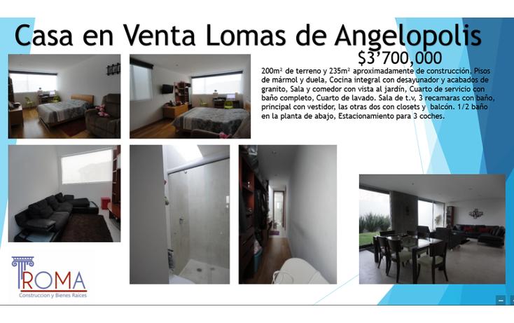 Foto de casa en venta en  , lomas de angel?polis privanza, san andr?s cholula, puebla, 1452259 No. 09