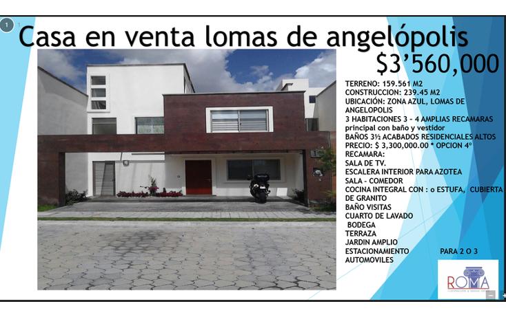 Foto de casa en venta en  , lomas de angel?polis privanza, san andr?s cholula, puebla, 1452325 No. 08