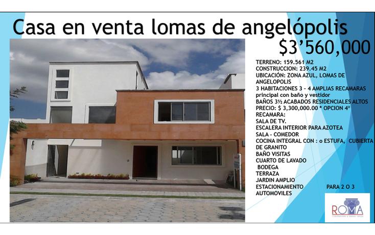 Foto de casa en venta en  , lomas de angel?polis privanza, san andr?s cholula, puebla, 1452325 No. 09