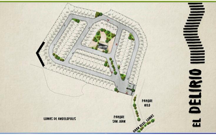 Foto de terreno habitacional en venta en  , lomas de angel?polis privanza, san andr?s cholula, puebla, 2043828 No. 02