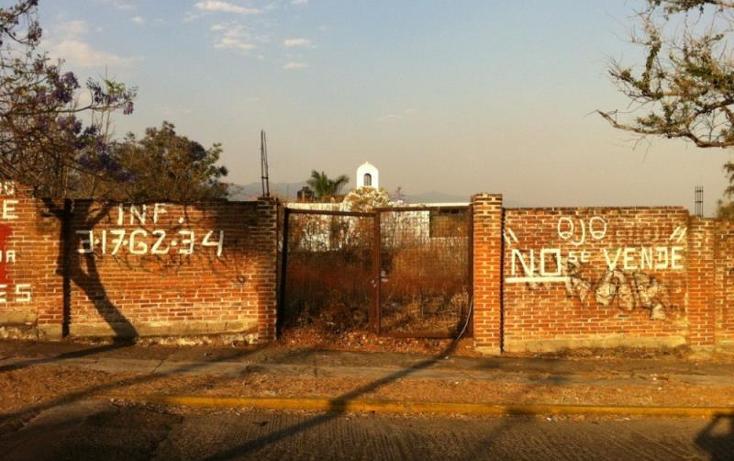 Foto de terreno habitacional en venta en  , lomas de atzingo, cuernavaca, morelos, 425426 No. 03