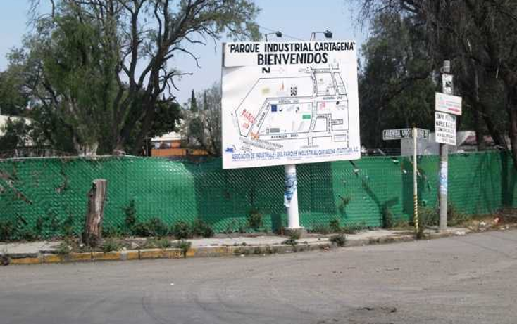 Foto de terreno industrial en venta en  , lomas de cartagena, tultitlán, méxico, 1280545 No. 06