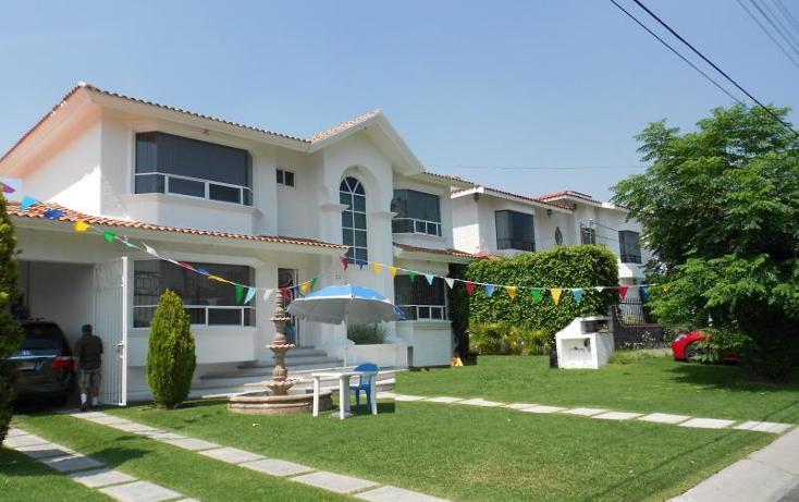 Foto de casa en venta en  , lomas de cocoyoc, atlatlahucan, morelos, 1848968 No. 01