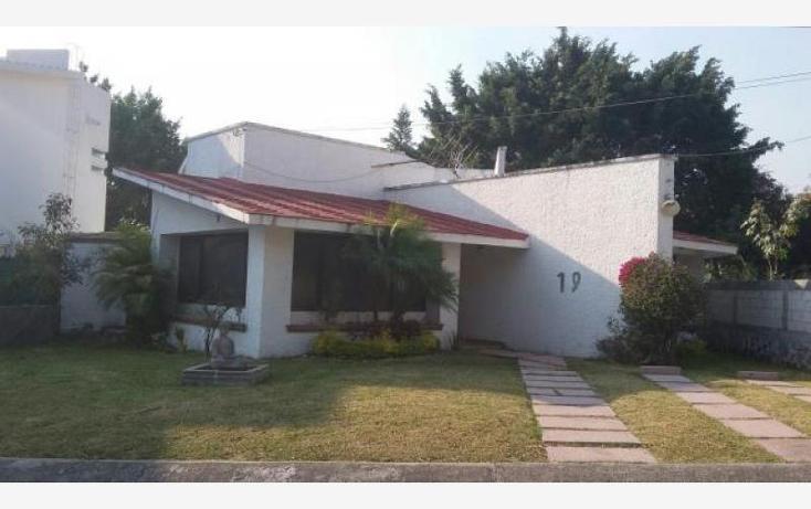 Foto de casa en venta en  , lomas de cocoyoc, atlatlahucan, morelos, 2005604 No. 01