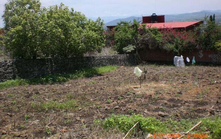 Foto de terreno habitacional en venta en  , lomas de cuernavaca, temixco, morelos, 790621 No. 01