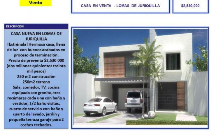 Foto de casa en venta en lomas de juriquilla rocallosas, azteca, querétaro, querétaro, 770697 no 01