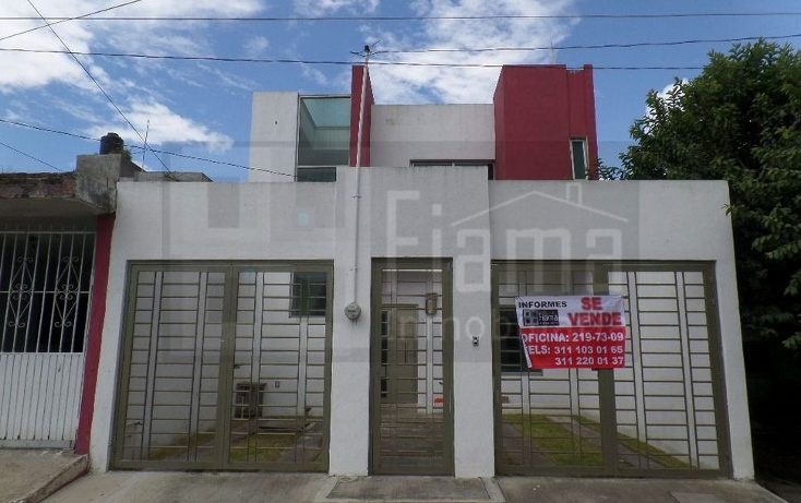 Foto de casa en venta en  , lomas de la cruz, tepic, nayarit, 1598476 No. 01