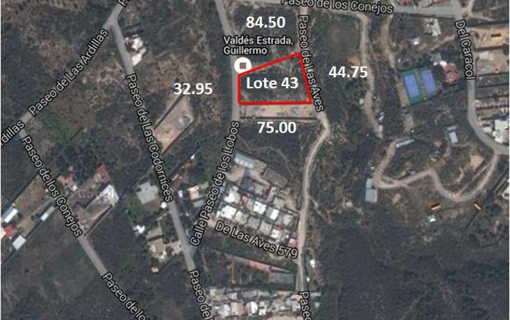 Foto de terreno habitacional en venta en  , lomas de lourdes, saltillo, coahuila de zaragoza, 1550936 No. 03
