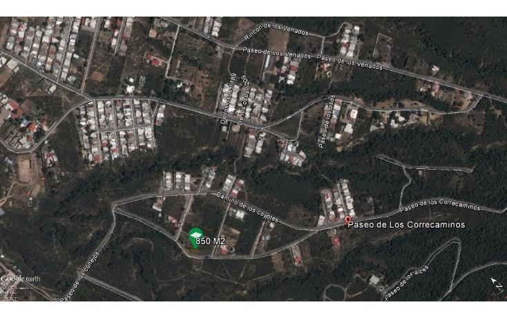 Foto de terreno habitacional en venta en  , lomas de lourdes, saltillo, coahuila de zaragoza, 1681342 No. 03