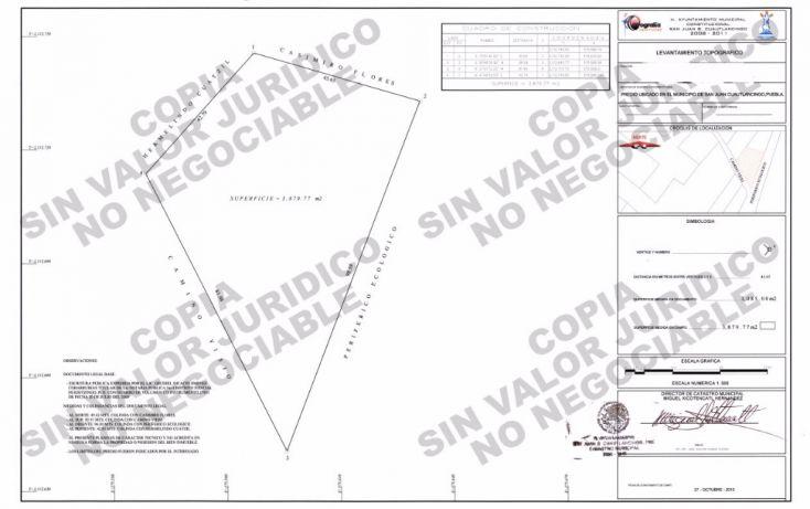 Foto de terreno comercial en venta en, lomas de san juan, cuautlancingo, puebla, 1558396 no 02
