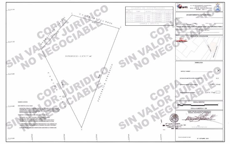 Foto de terreno comercial en venta en  , lomas de san juan, cuautlancingo, puebla, 1558396 No. 02