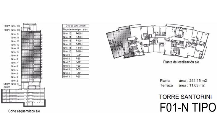 Foto de departamento en venta en  , lomas de santa fe, álvaro obregón, distrito federal, 1145221 No. 16