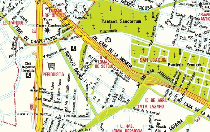 Foto de terreno comercial en venta en  , lomas de sotelo, miguel hidalgo, distrito federal, 1282805 No. 03