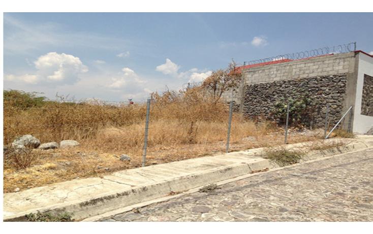 Foto de terreno habitacional en venta en  , lomas de tetela, cuernavaca, morelos, 1298085 No. 01