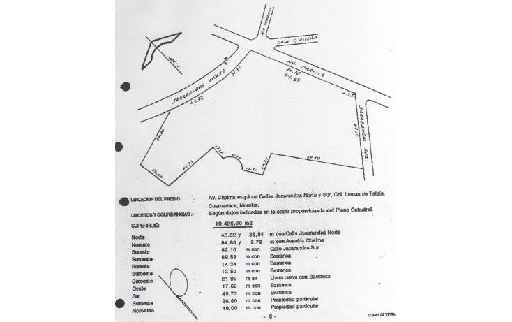 Foto de terreno comercial en venta en  , lomas de tetela, cuernavaca, morelos, 1678214 No. 02