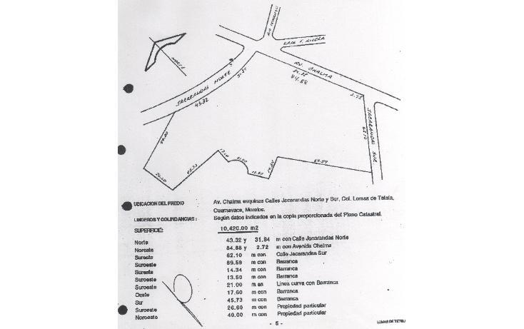 Foto de terreno comercial en venta en  , lomas de tetela, cuernavaca, morelos, 2011162 No. 05