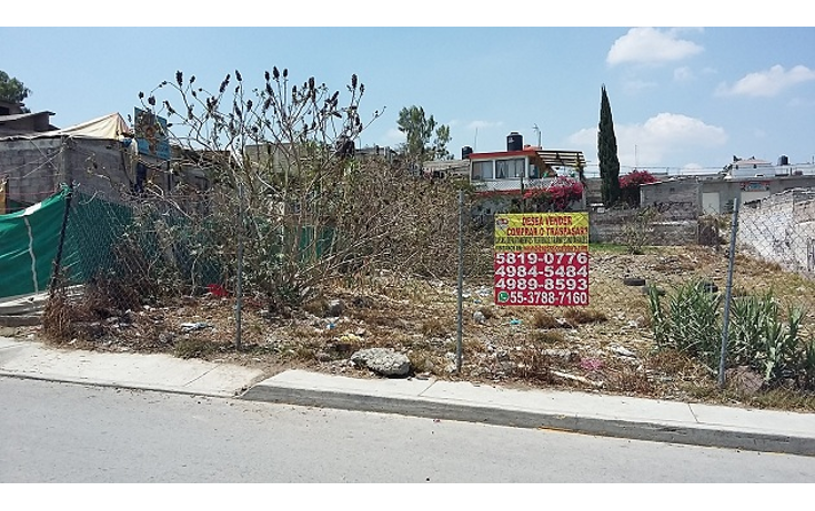 Foto de terreno habitacional en venta en  , lomas de tultepec, tultepec, méxico, 1246905 No. 02