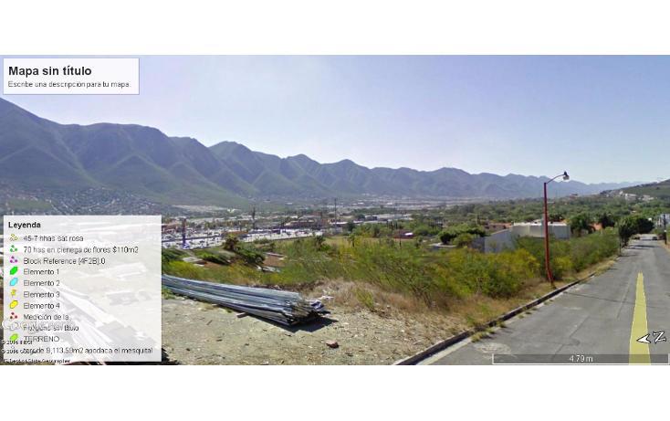 Foto de terreno habitacional en venta en  , lomas de valle alto, monterrey, nuevo león, 1614156 No. 01