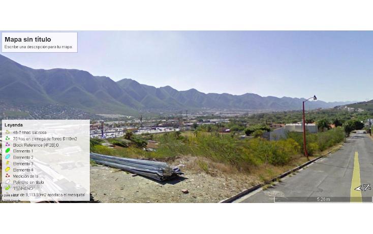 Foto de terreno habitacional en venta en  , lomas de valle alto, monterrey, nuevo león, 1614156 No. 06