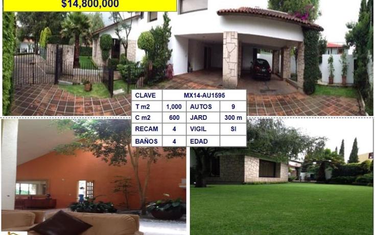 Foto de casa en venta en  , lomas de valle escondido, atizap?n de zaragoza, m?xico, 602550 No. 01