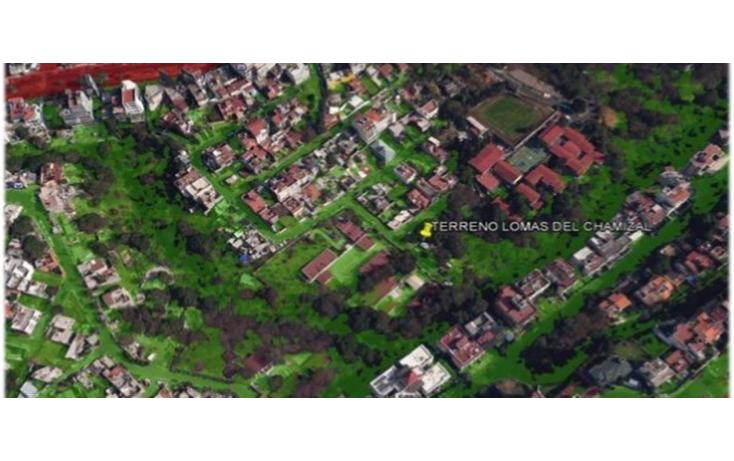 Foto de terreno habitacional en venta en  , lomas del chamizal, cuajimalpa de morelos, distrito federal, 2020251 No. 01