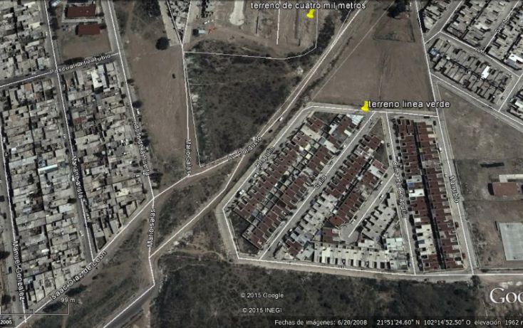 Foto de terreno comercial en venta en, lomas del chapulín, aguascalientes, aguascalientes, 1741578 no 02