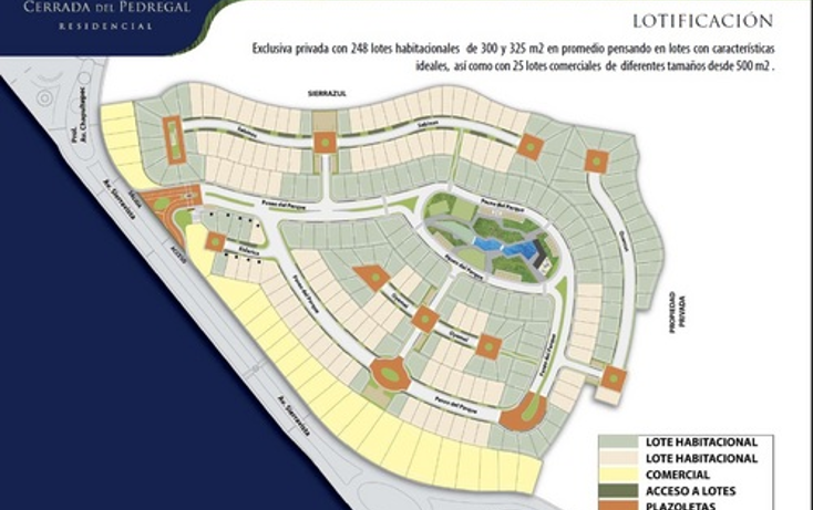 Foto de terreno comercial en venta en  , lomas del pedregal, san luis potosí, san luis potosí, 1045813 No. 02