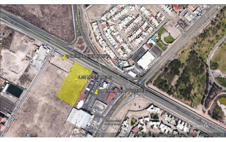 Foto de terreno comercial en venta en  , lomas del pedregal, san luis potosí, san luis potosí, 1373895 No. 01