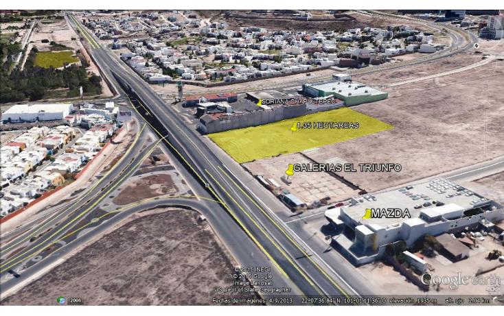 Foto de terreno comercial en venta en  , lomas del pedregal, san luis potosí, san luis potosí, 1373895 No. 02